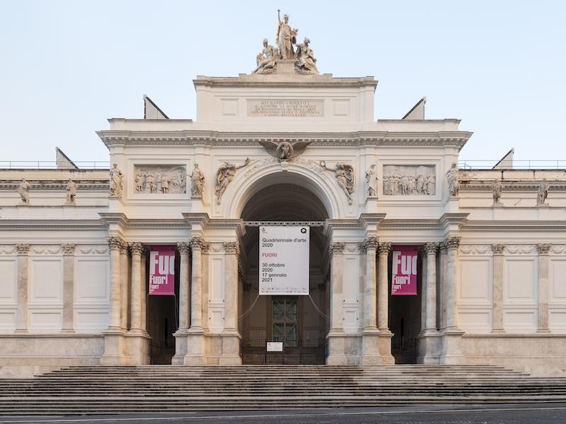 La Quadriennale 2020 FUORI prosegue online su quadriennale2020.com e sui canali social e youtube