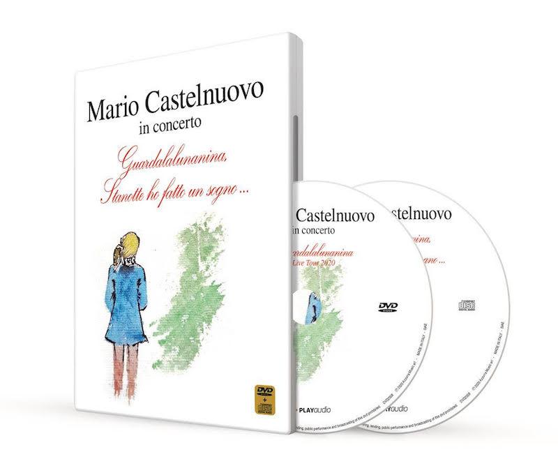 Mario Castelnuovo: Primo DVD live per i 40 anni di carriera + due brani con inedito (azzurramusic)