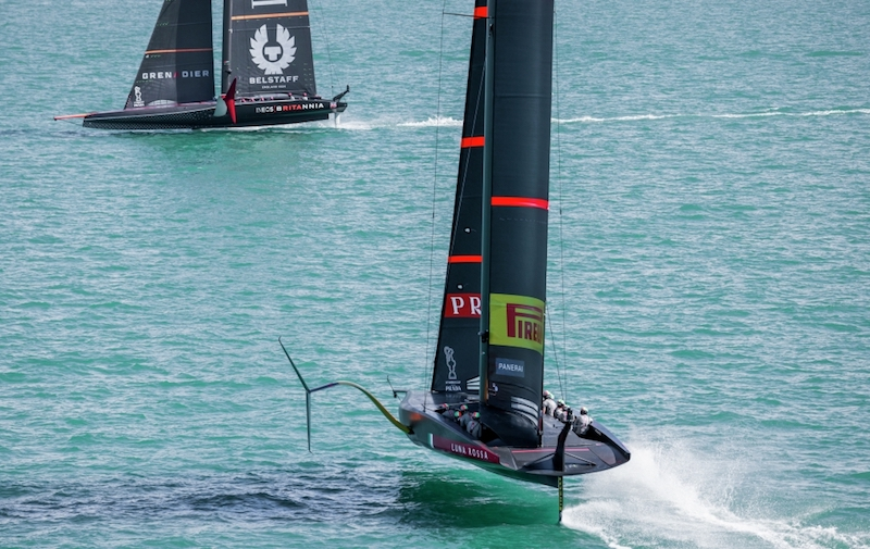 PRADA America's Cup World Series – Race Report Day 3