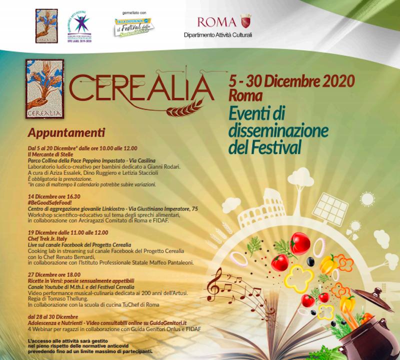 """Parte oggi il Festival Cerealia, la festa dei cereali e del Mediterraneo: tanti gli eventi """"disseminati"""" tra arte e gastronomia"""