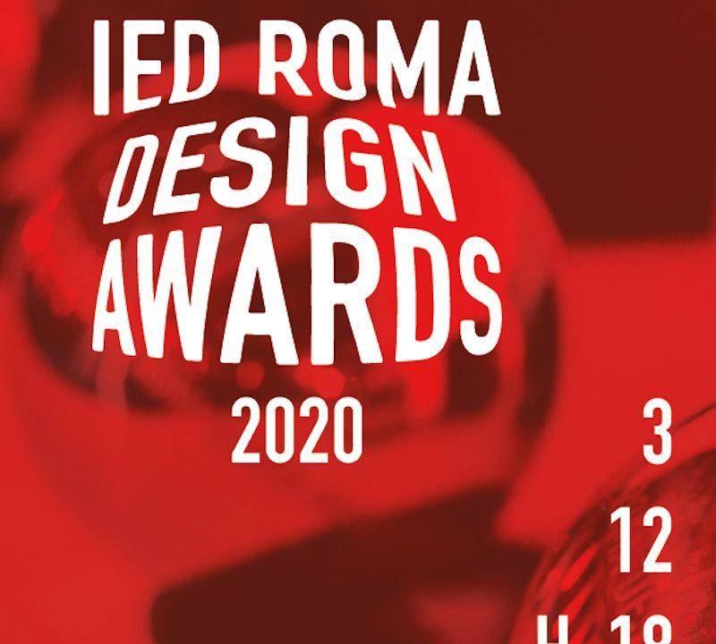 IEDRomadesignawards2020: Premiazione dell'edizione 2019/2020 dei migliori progetti sviluppati nella sede IED Roma