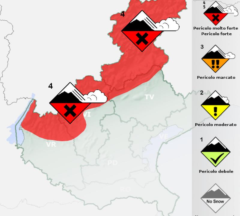 ARPAV – Inizio inverno tra i più nevosi degli ultimi quindici anni