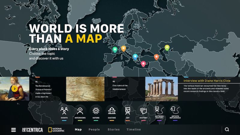 GESAwards: ArtCentrica wins That's Geography special track by National Geographic