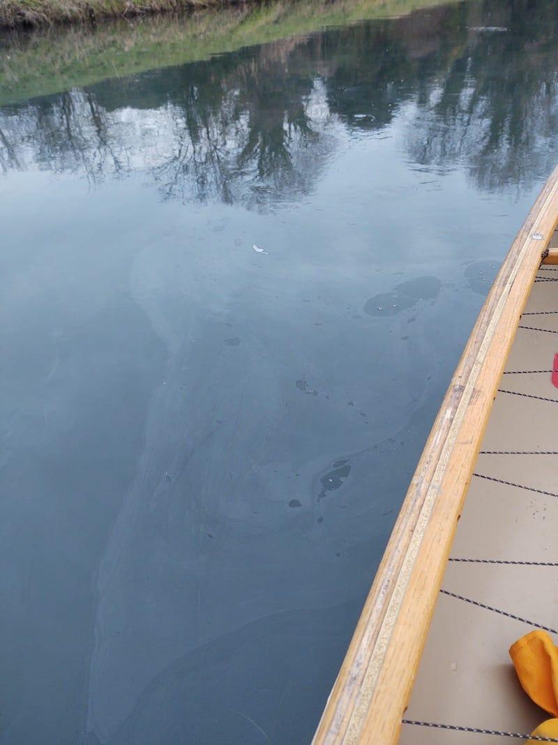 Vigili del Fuoco – Biancade (TV), Sversamento di gasolio nel fiume Musestre