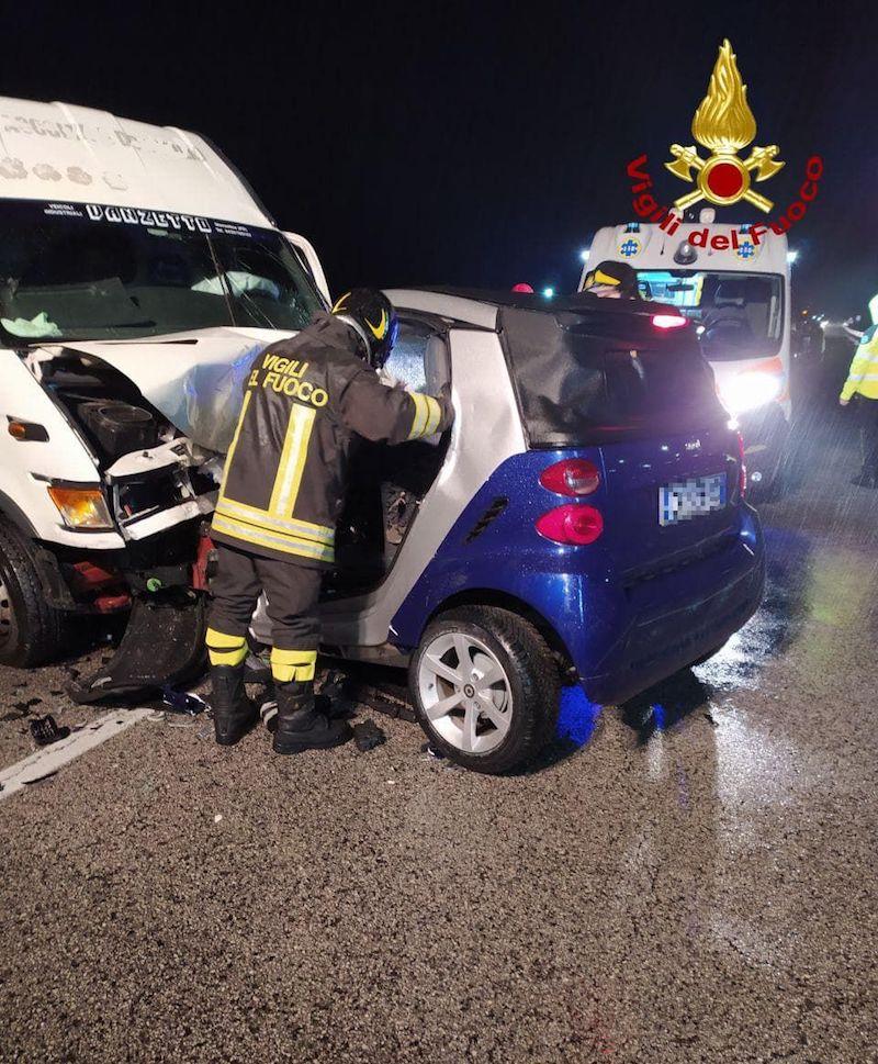 Vigili del Fuoco – Resana (TV), Incidente mortale sulla SR 307