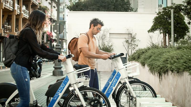 """CES 2021 Las Vegas – L'e-bike sharing """"VAIMOO"""" unica innovazione italiana premiata al CES 2021"""