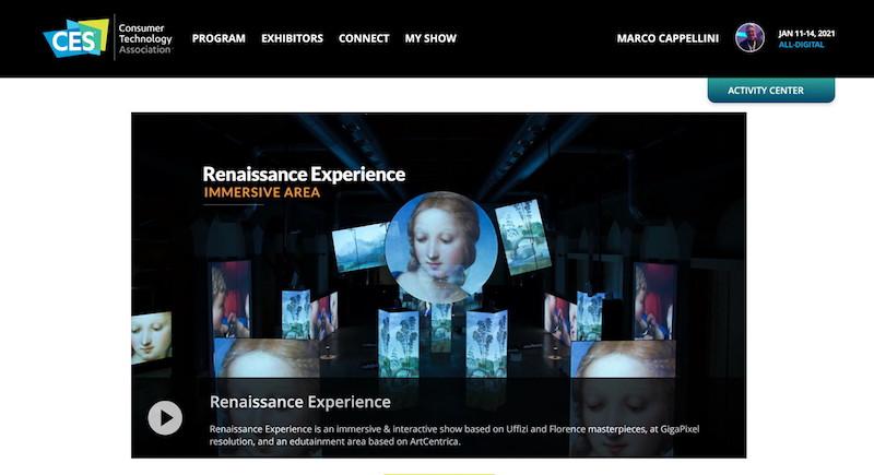 CES 2021 Las Vegas – Il Rinascimento Italiano al CES con with VirtuItaly (Italian Renaissance at CES with VirtuItaly)