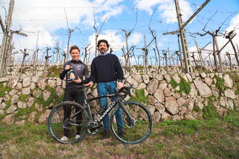 Volata in Valpolicella, in bici con Damiano Cunego nella terra dell'Amarone