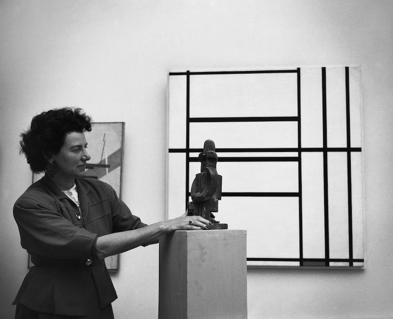 Collezione Peggy Guggenheim – Al via il progetto di studio e conservazione sull'opera di Piet Mondrian Composizione n. 1 con grigio e rosso 1938 / Composizione con rosso 1939
