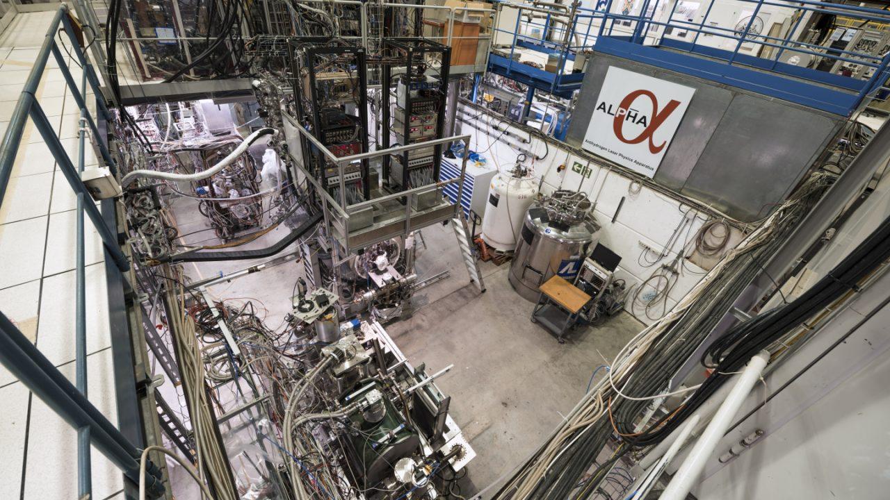 CERN – ALPHA cools antimatter using laser light for the first time