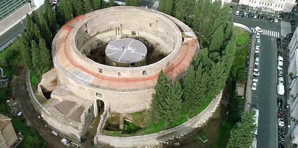 Riapre al pubblico il Mausoleo di Augusto, il più grande sepolcro circolare del mondo antico, emblema della magnificenza architettonica della romanità