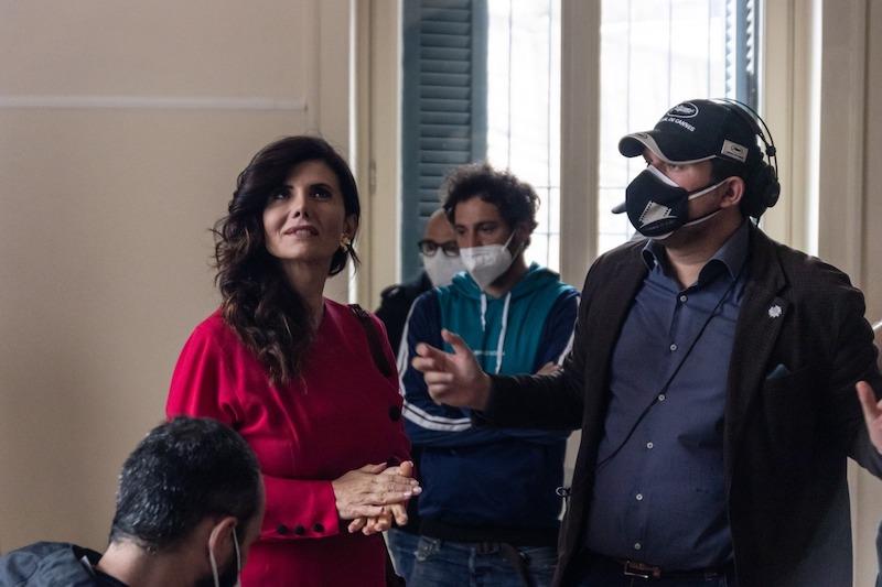 """Ciakper Leo Gullotta e Giovanna Rei a Napoli:  al via le riprese del film """"Quel posto nel tempo""""  di Giuseppe Alessio Nuzzo"""