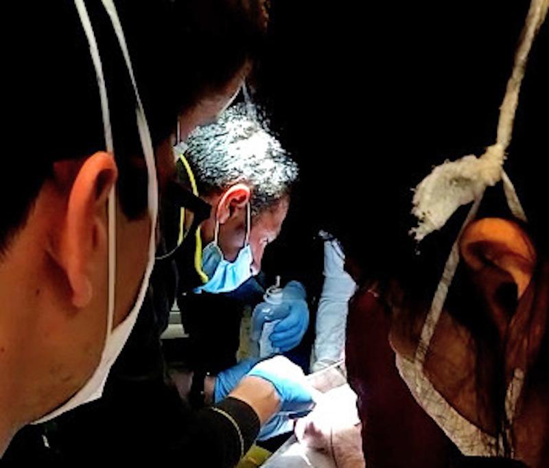 Vigili del Fuoco – San Donà di Piave (VE), Bimba di 4 anni infila il dito in una torcia, al Pronto Soccorso dell'Ospedale i Pompieri segano il metallo e la liberano