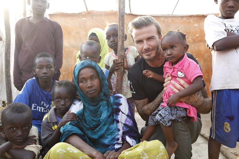 UNICEF: Al via la Settimana Mondiale delle Vaccinazioni (24-30/aprile) con David Beckham