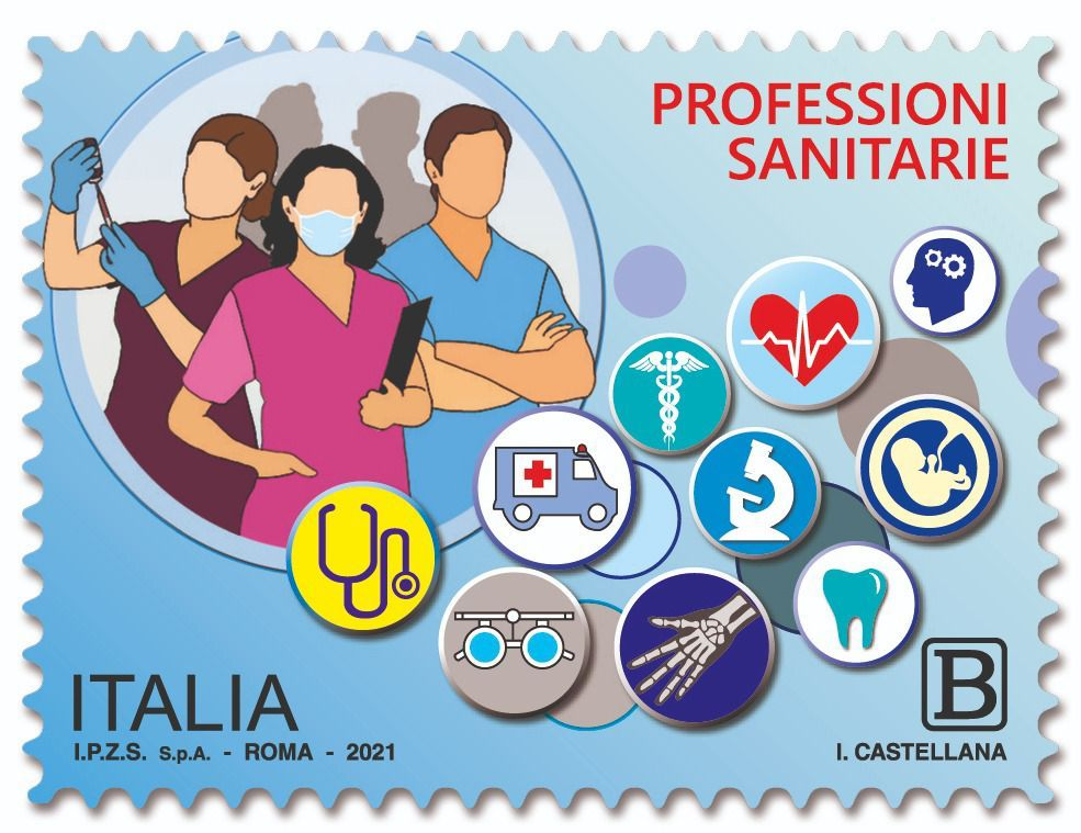 """MISE – Emissione di un francobollo ordinario appartenente alla serie tematica """"il Senso civico"""" dedicato alle professioni sanitarie"""
