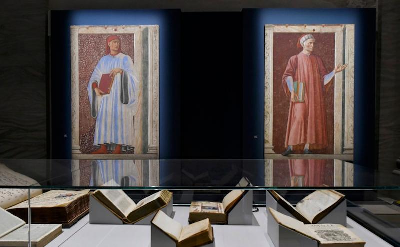 """ADM – Forlì, Ai Musei San Domenico di Forlì """"Il saluto di Beatrice"""" del pittore Dante Gabriel Rossetti per la mostra """"Dante. La visione dell'arte"""""""