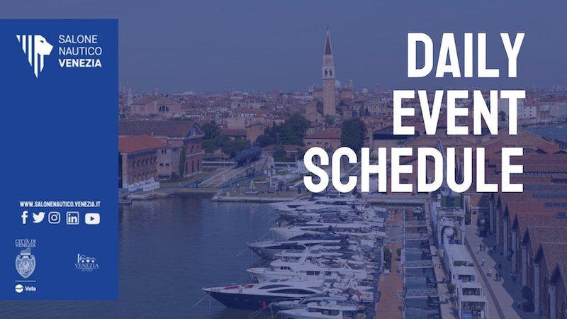 Salone Nautico Venezia – Il programma degli eventi di sabato 29 maggio