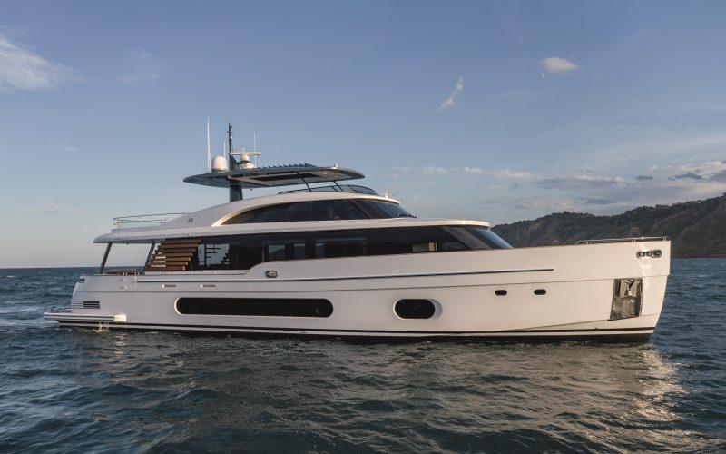 Magellano 25 Metri Timeless di Azimut Yachts esposto per la prima volta in Europa al Salone Nautico di Venezia 2021