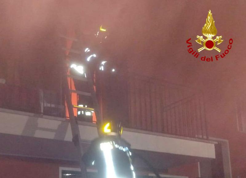 Vigili del Fuoco – Campolongo Maggiore (VE), Incendio di un'abitazione: Gravi i danni ma nessun ferito
