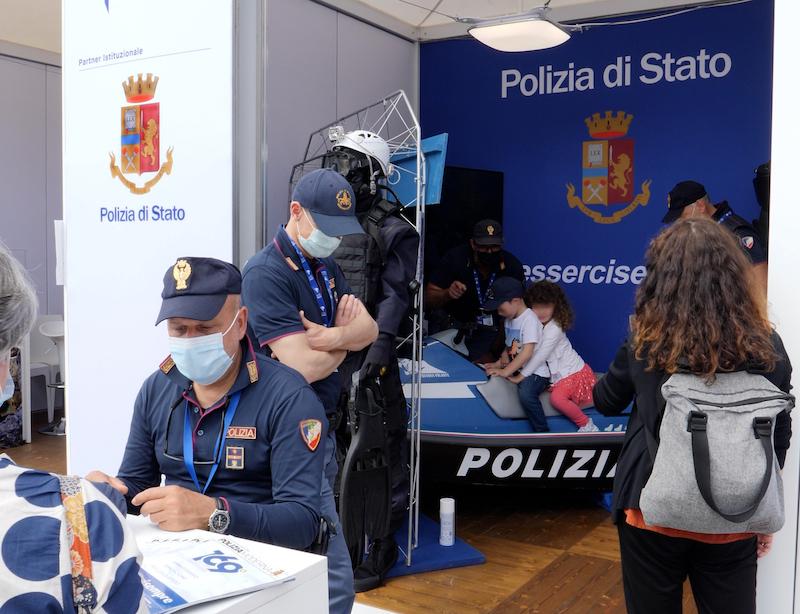 Salone Nautico Venezia 2021: La Questura di Venezia ritorna con uno stand interattivo dedicato alla sicurezza in acqua