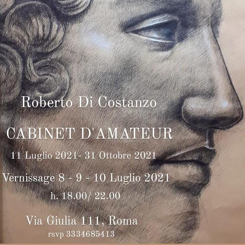 """L'esposizione """"Cabinet D'Amateur"""" del maestro Roberto Di Costanzo all'Atelier di Via Giulia 111 a Roma"""