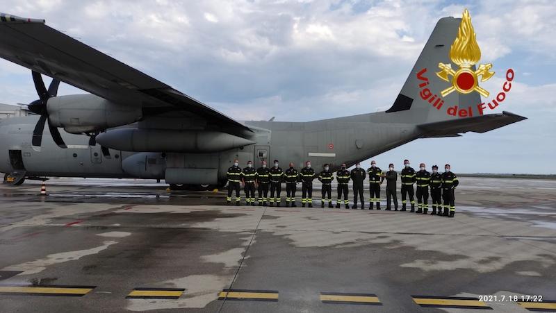Vigili del Fuoco – Alluvione in Belgio, Rientrato all'Aeroporto Marco Polo il Team Italiano