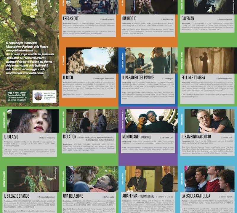 Roma Lazio Film Commission partecipa alla 78° Mostra Internazionale d'Arte Cinematografica di Venezia
