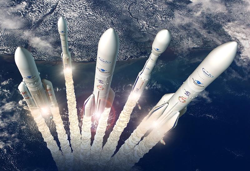 Il Consiglio dell'ESA concorda sulla risoluzione sull'utilizzo di Ariane 6 e Vega-C e sul futuro trasporto spaziale