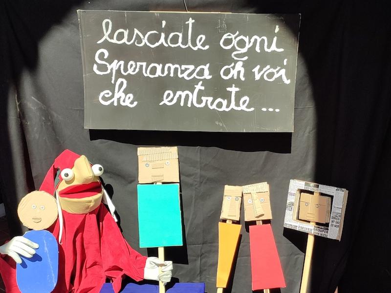 """Teatro per tutti: """"AnDante ConMedia. La Divina Commedia spiegata a noi stessi"""" allo Spazio Rossellini di Roma"""