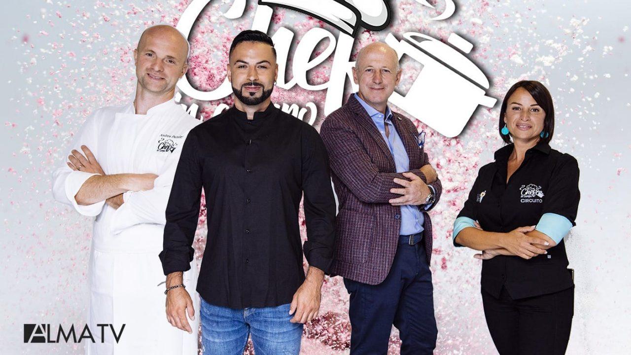 """Dal 13 settembre su Alma Tv torna in prima serata la seconda edizione di """"Chef in Campo"""" condotto da Anthony Peth"""