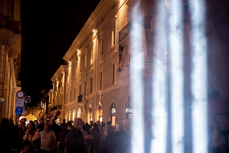Dopo sedici anni L'Aquila si è illuminata di nuovo per una straordinaria NOTTE BIANCA