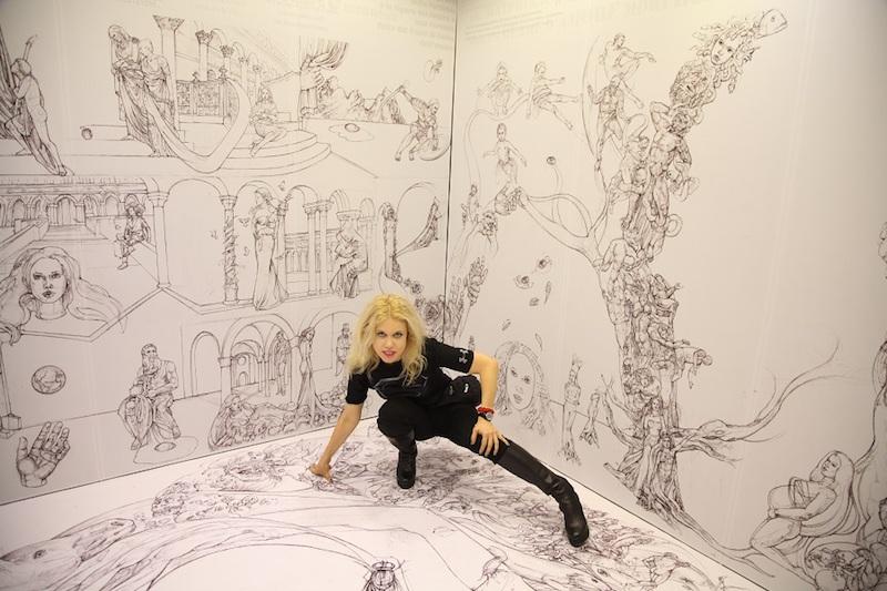 """""""Espressione dell'anima"""" – La personale di Melanie Francesca a Milano Art Gallery 3 ottobre-24 ottobre 2021"""